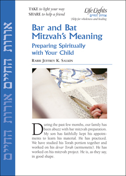 Jewish Lights: Bar And Bat Mitzvah's Meaning: Preparing ...